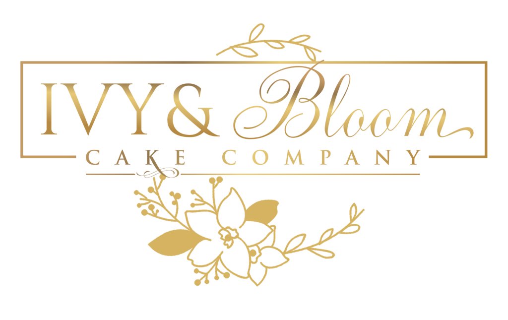 Ivy and Bloom Cake Company logo